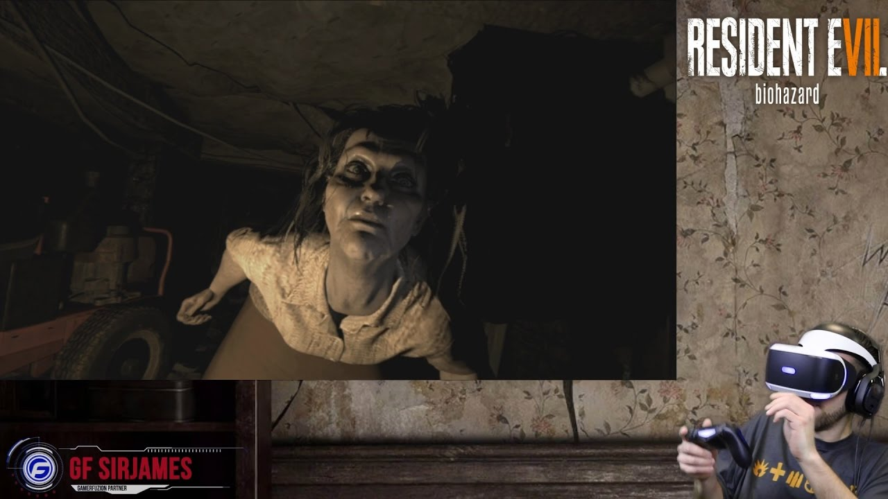 Resident Evil 7: BioHazard PlayStation VR Walkthrough Part 4 - Finding a way out - YouTube
