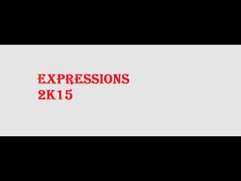 Sharjah Indian School  Expressions 2015