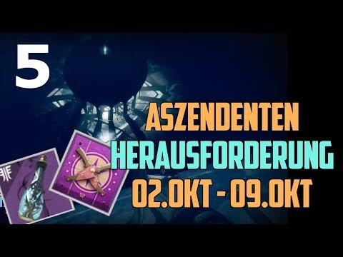 Destiny 2 : Aszendenten Herausforderung Woche 5 Solo | Guide Deutsch / German | Forsaken