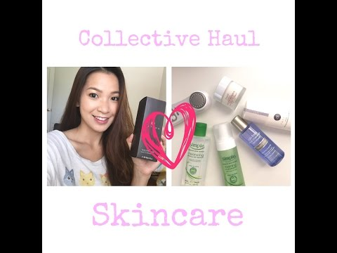 Collective Haul Skincare | Simple, Fresh, Tatcha, Neutrogena, Caudalie etc | by the make.a