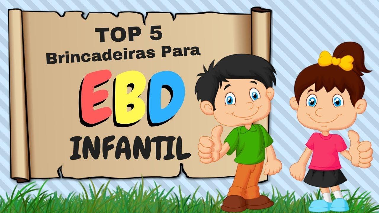 5 Brincadeiras Para EBD Infantil que as crianças amam!