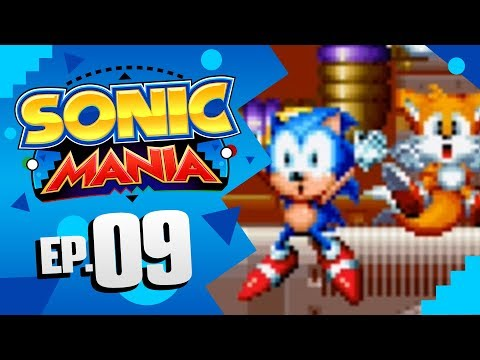 Sonic Mania - Part 9 | Oil Ocean Zone! [Sonic & Tails Gameplay]