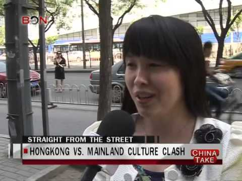 Hongkongers clash with mainland visitors  - China Take - Apr 25 ,2014 - BONTV China