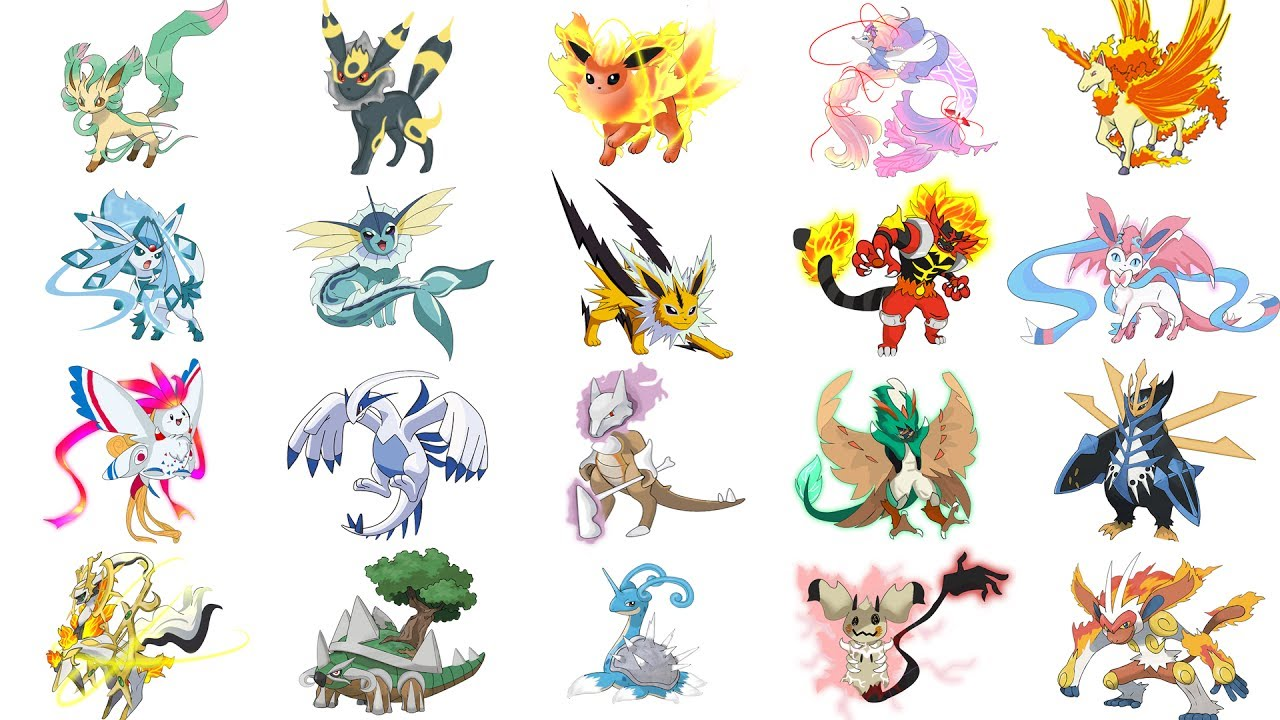 Top Pokemon Mega Evolutions Fanart Compilation - Fan ...