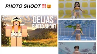 Roblox: Delia's photo shoot summer outfits