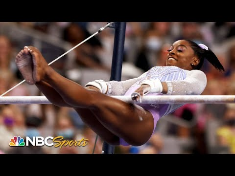 Simone Biles eyes 7th National Title after dominating night one performance   NBC Sports