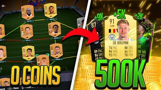 0 Coins To 500K Quickly! How To Make 500k In FIFA 21 Ultimate Team