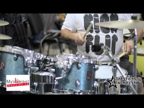 Starsticks Drum Fest 2014   Denis Sidorenko