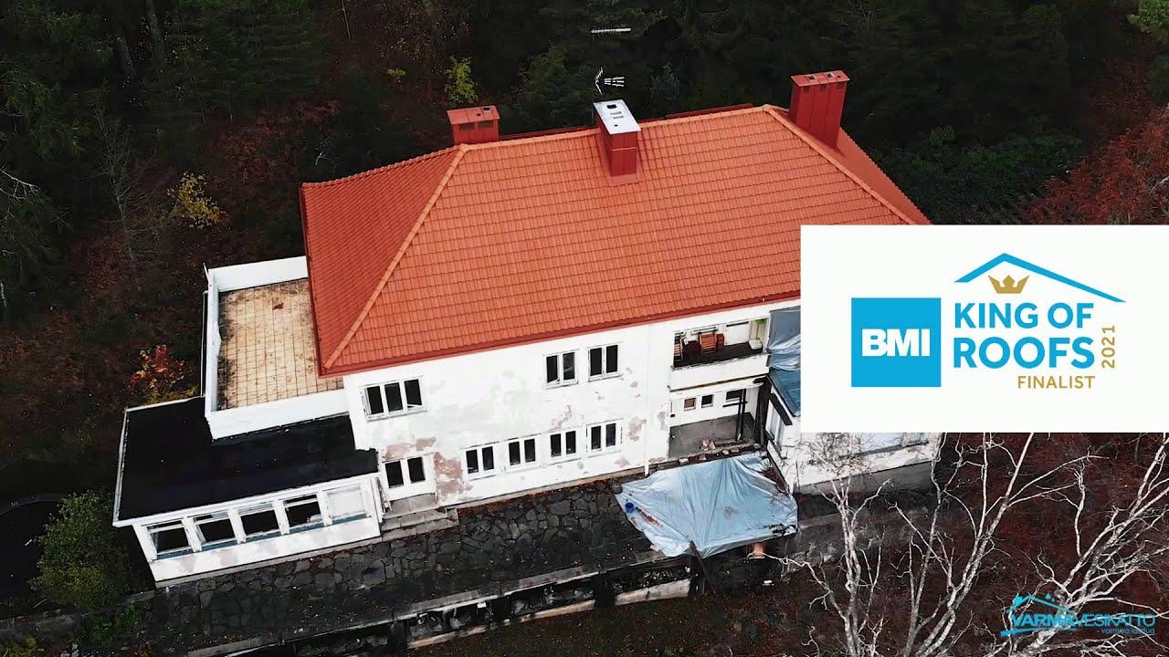 Kenraalintie, Varma Vesikatto Oy | King of Roofs 2021 -finalisti