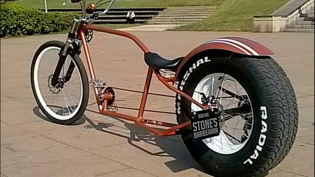 Bicicleta com roda de carro YouTube