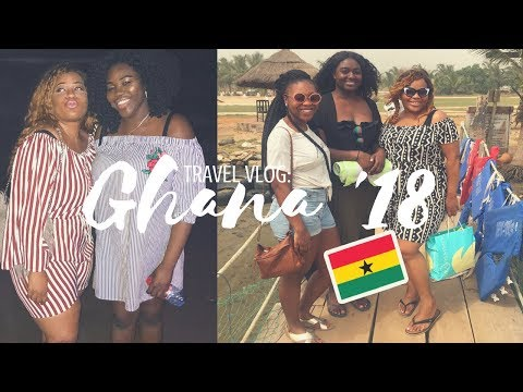 TRAVEL VLOG: ACCRA GHANA 2018! || NEW YEAR TRAVEL ADVENTURE, NIGERIAN GIRL IN GHANA