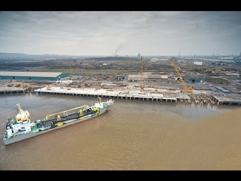 Teesport Berth 1 Reconstruction