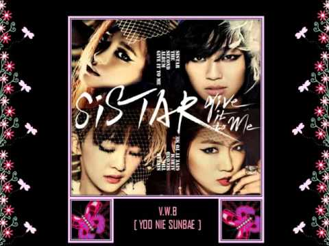 SISTAR- GIVE IT TO ME [AUDIO]