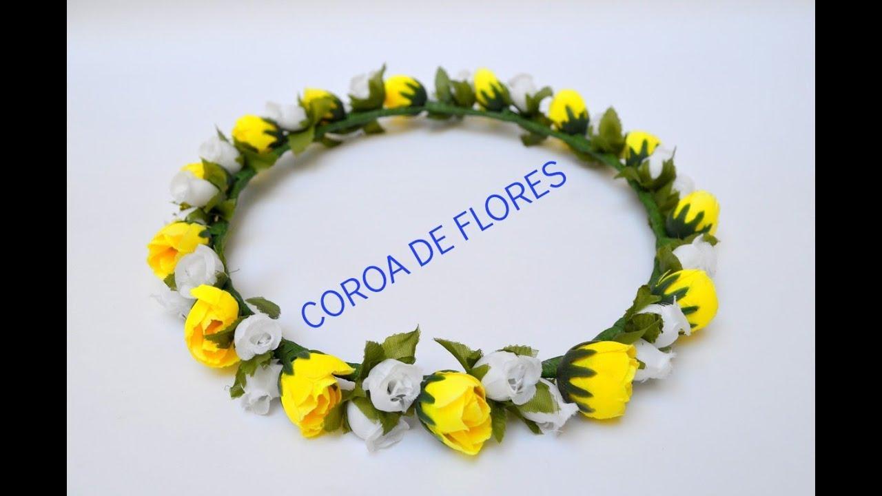 Favoritos Tutorial: Como fazer coroas de flores :3 - YouTube JT24