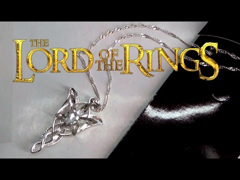 Lord of the rings elfstone evenstar necklace youtube lord of the rings elfstone evenstar necklace aloadofball Images