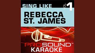 Psalm 139 (Karaoke Instrumental Track) (In the Style of Rebecca St. James)