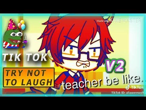 Gacha TIK TOK Compilation 😈TROLLS  TRY NOT TO LAUGH 😈BEST V2👹