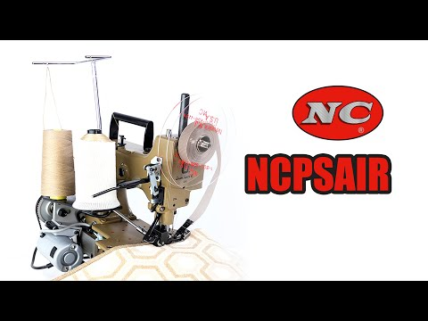 Carpet Serger Overlock Portable Ncpsair Youtube