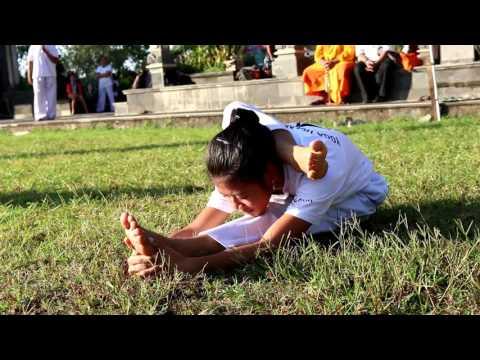 Yoga Masal dalam rangka menyambut HUT Perguruan Seruling Dewata Ke 31