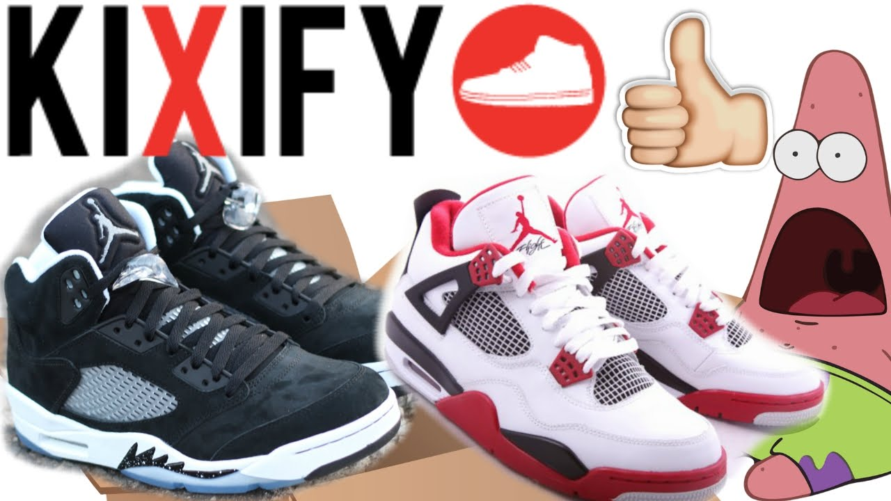 25f8c3dd256c2c Jordan Oreo 5s   Fire Red 4s! - YouTube