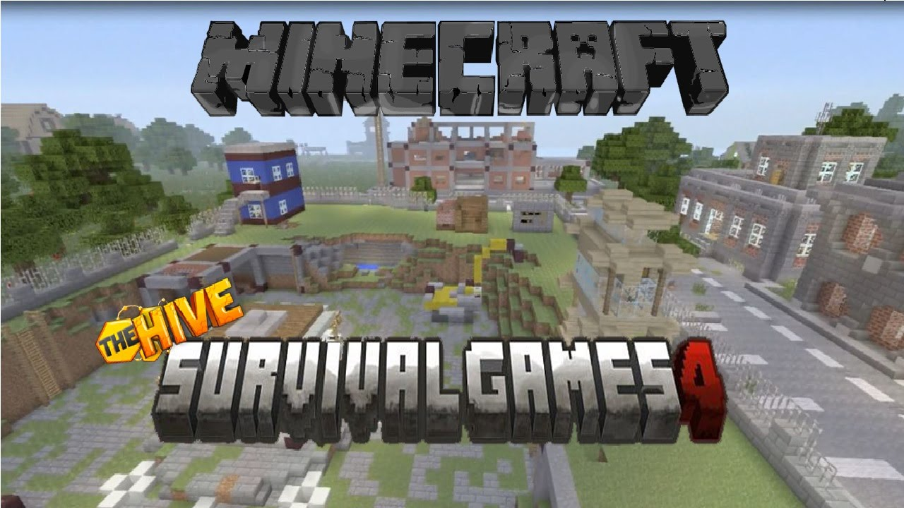 Minecraft Ps3 Hive Survival Games v4 (Download) - YouTube
