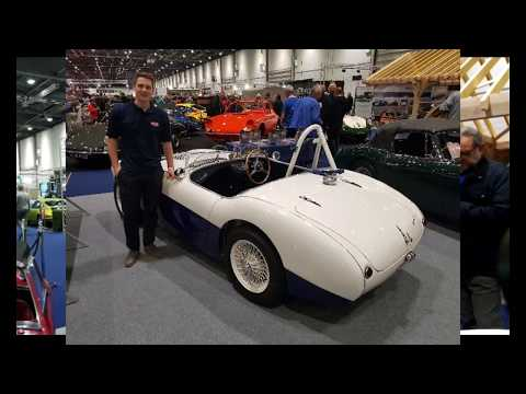 ClassicLine Insurance meets Jack Rawles of Bill Rawles Classic Cars at the London Classic Car Show