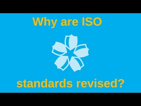 Why are standards revised?