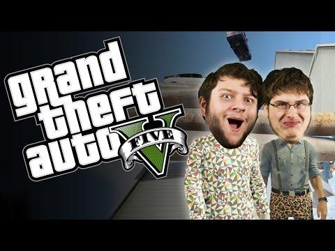 GTA 5 PC Online Funny Moments - DEADRUN!...