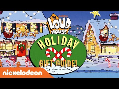 Lincoln's Holiday Gift Guide 🎁  | The Loud House | Nick