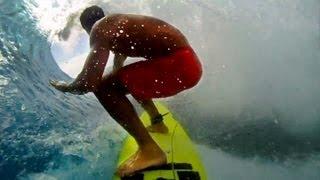 GoPro HD HERO Camera: Tavarua Barrels with Jon Roseman