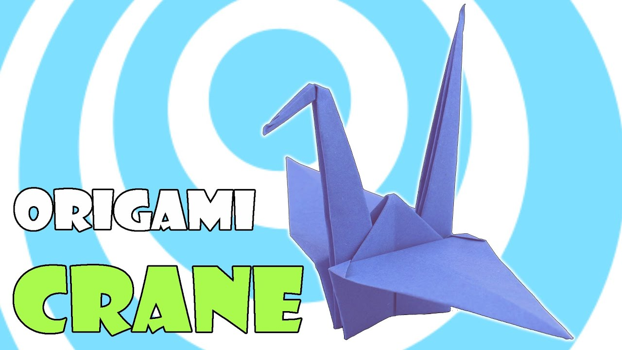 How To Make Origami Crane Tutorial REMAKE