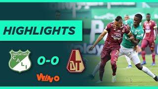 Cali vs Tolima (Highlights) Liga BetPlay Dimayor 2021-1    Fecha 13