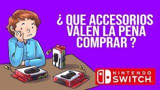Tengo una switch y ahora... ¿Que accesorios debo comprar?