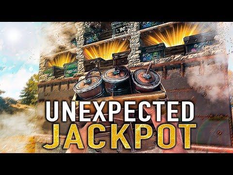 THE LUCKIEST JACKPOT RAID EVER!! - RUST (Ep-1) thumbnail
