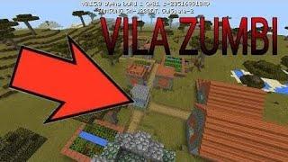 Minecraft reino # 4 achamos uma vila zumbi