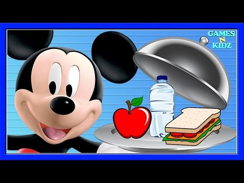 Mickey Mouse Clubhouse: Mickey Cafe - Learn Healthy Eating Habits - Disney Junior Game For Kids |