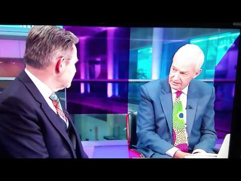 Jon Snow from Channel 4 news outrageous