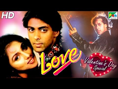 Love | Popular Hindi Movie | Salman Khan, Revathi | Valentine's Day Special 2020