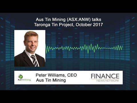 Aus Tin Mining (ASX:ANW) talks Taronga Tin Project