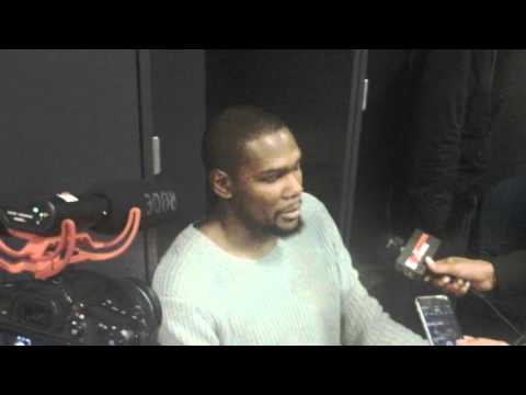 Backdoor Cut: Oklahoma City Kevin Durant postgame presser 11.30.15