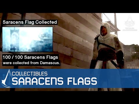 Assassin's Creed - Side Memories - Saracens Flags Locations