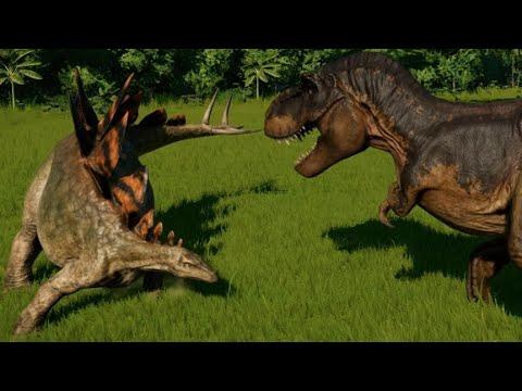 T-Rex vs Stegosaurus, Huayangosaurus, Chungkingosaurus, Gigantspinosaurus & Kentrosaurus letöltés