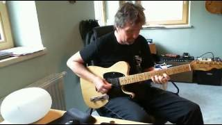 Country guitar  solo Brent Mason, Johnny Hiland, Vince Gill,Albert Lee style