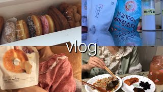 간호조무사 브이로그38 |일요일근무/던킨도너츠,다이어터…