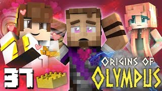 Origins of Olympus: APHRODITE'S BALL! (Percy Jackson Minecraft Roleplay SMP)