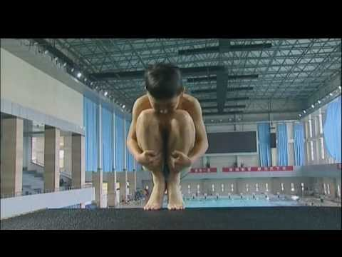 How China trains its future diving stars | ITV News