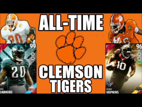 All-Time Clemson Tigers Team - Brian Dawkins and DeAndre Hopkins! - Madden 16 Ultimate Team