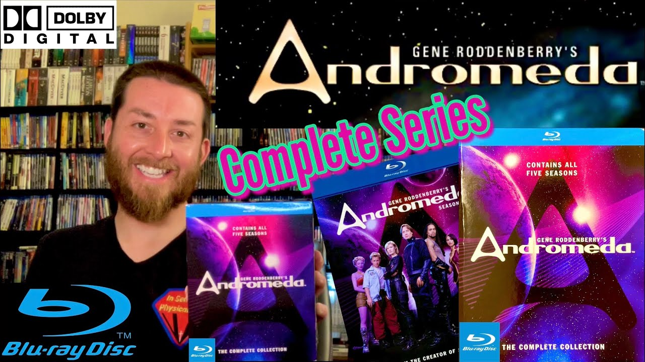 Download Gene Roddenberry's Andromeda Complete Collection TV Series Blu Ray Review / Unboxing / Region Free
