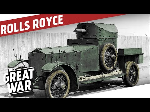 Inside the Rolls Royce Armoured Car I THE GREAT WAR Special