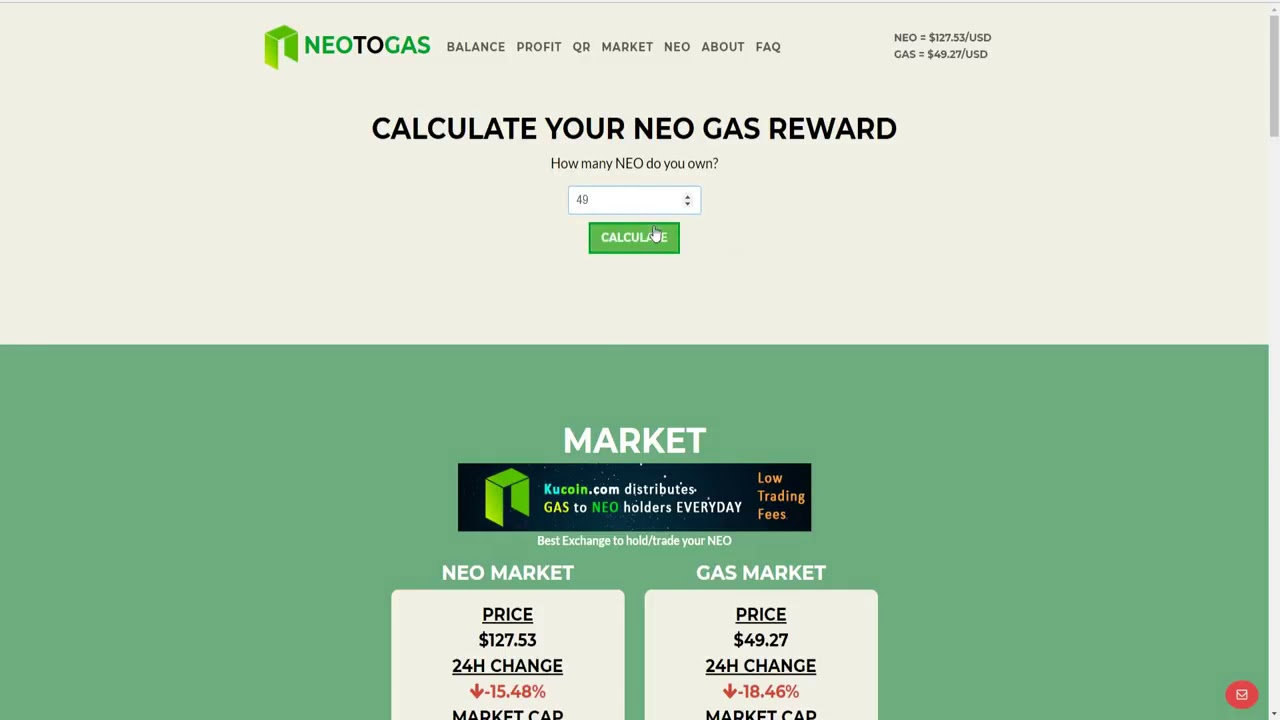 What is earning gas cryptocurrency